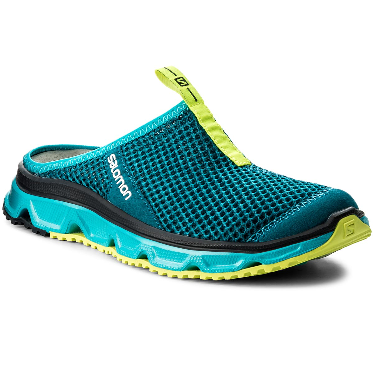 buy popular ac9b3 b99ed Sandaler SALOMON - Rx Slide 3.0 W 401455 21 M0 Deep Lagoon Bluebird Safety