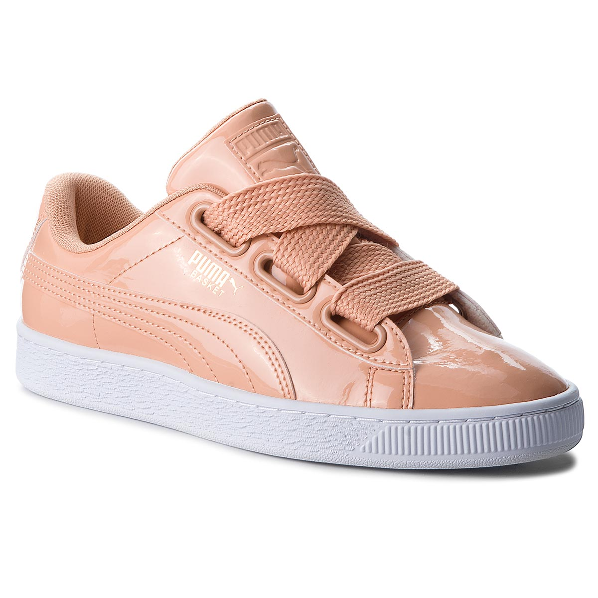 the best attitude 800b5 c2211 Sneakers PUMA - Basket Heart Patent 363073 16 Dusty Coral Dusty Coral