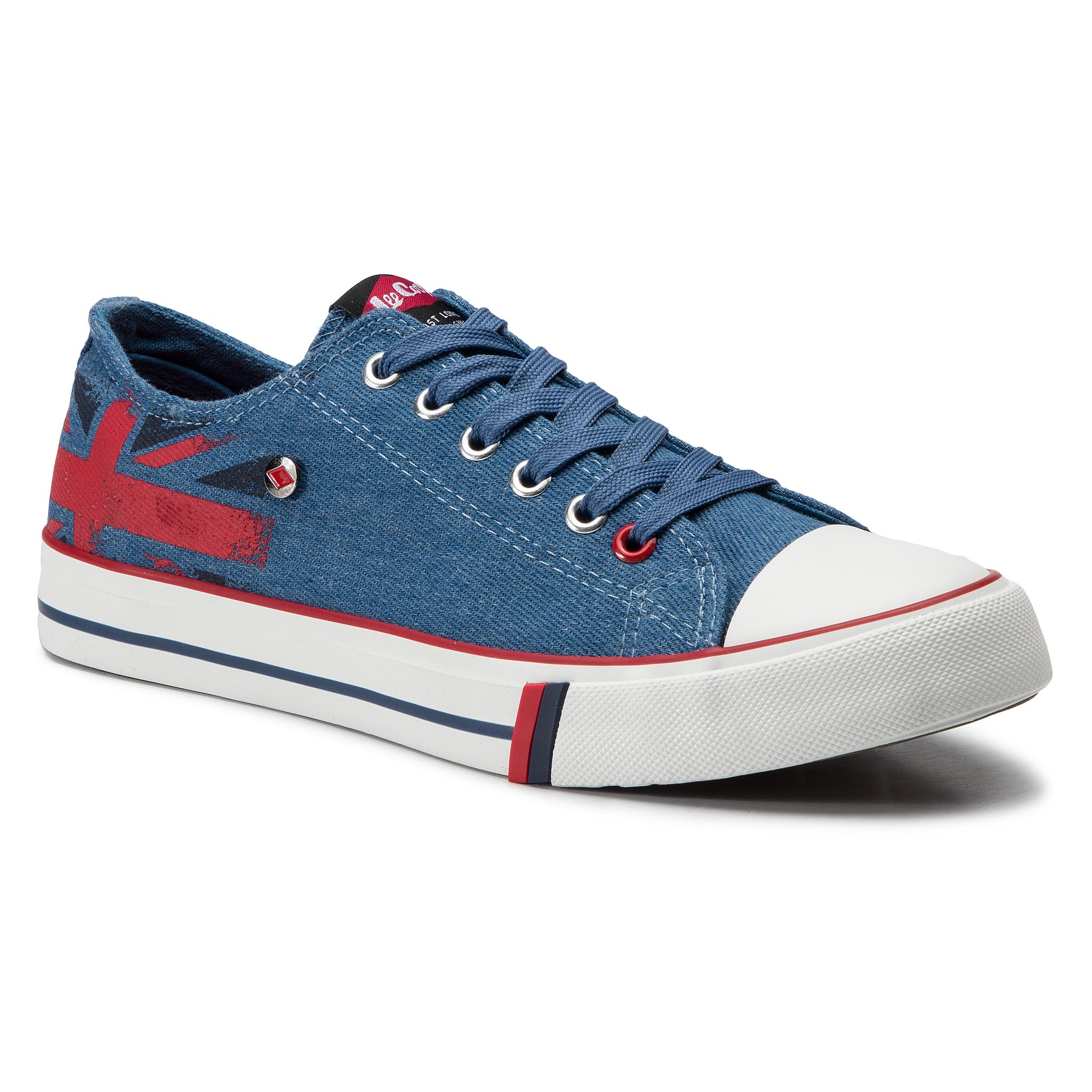 Lee Cooper Sneakers LEE COOPER - Low Cut 1 LCW-19-530-032 Jeans Blue