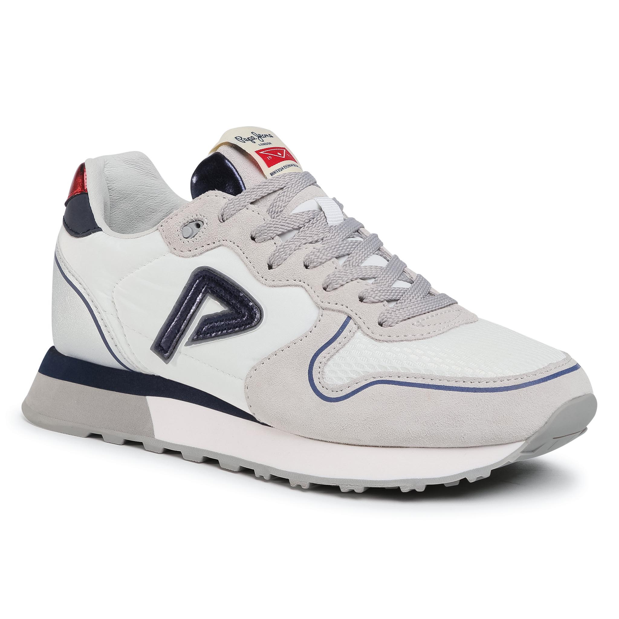 Sneakers PEPE JEANS - Klein Original PLS31093  White 800