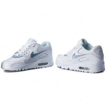 Nike Air Max 90 Mesh (GS) white royal tint white