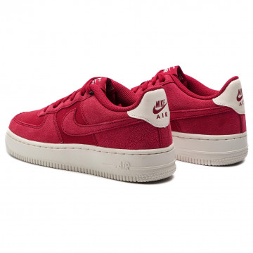 NIKE AIR FORCE 1 '07 SUEDE RED CRUSH