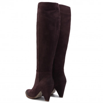 Over knee boots CARINII B4834 M10 000 PSK D31 Over knee