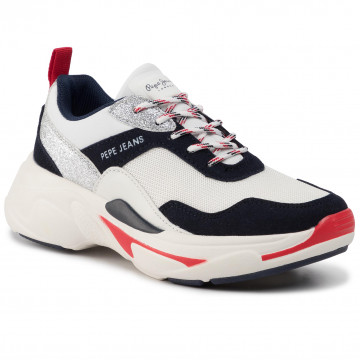 Sneakers PEPE JEANS Sinyu Girl Action PGS30416 Navy 595
