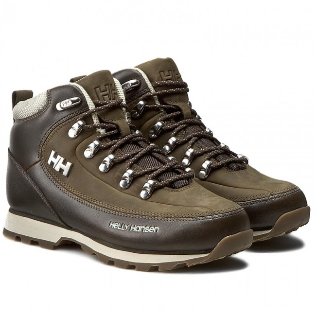 Trekking skor HELLY HANSEN W The Forester 105 16.708 EspressoNaturaWalnut