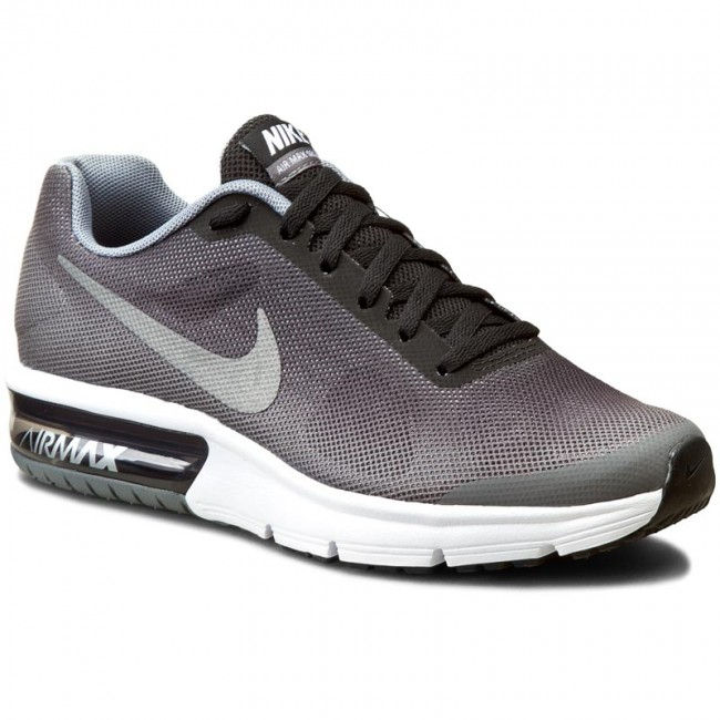 new products 744fe 0885d Skor NIKE - Air Max Sequent (GS) 724983 011 Black Metallic Silver
