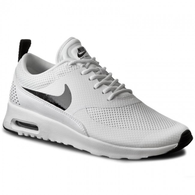 newest 33a22 095d6 Skor NIKE - Air Max Thea 599409 103 White Black