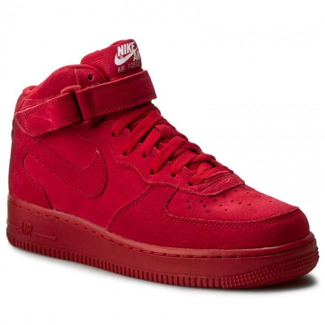 check out d93b3 f4625 Skor NIKE - Air Force 1 Mid  07 315123 609 Gym Red Gym Red