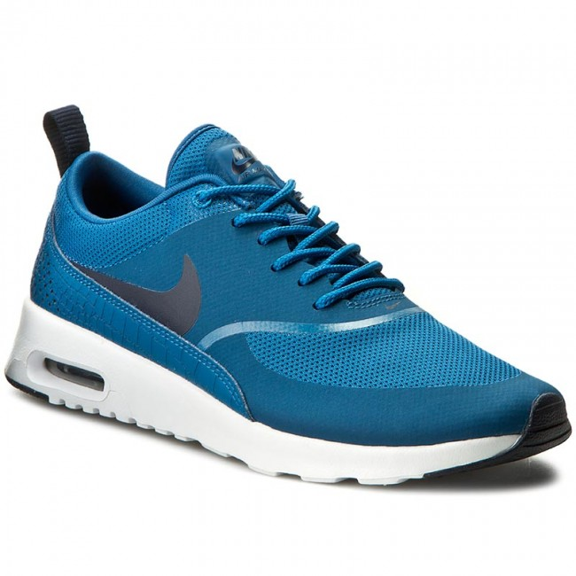 low priced 62d61 a2cff Skor NIKE - Air Max Thea 599409 415 Industrial Blue Obsidian White