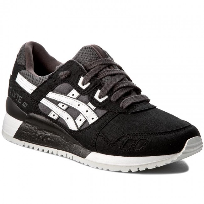 official photos fd659 4c14a Sneakers ASICS - TIGER Gel-Lyte III H7K4Y Dark Grey White 9501