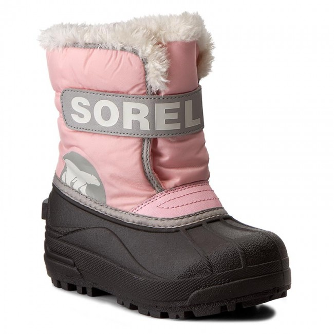 66a8e642 Vinterskor SOREL - Childrens Snow Commander NC1877 Cupid/Dove 651 ...