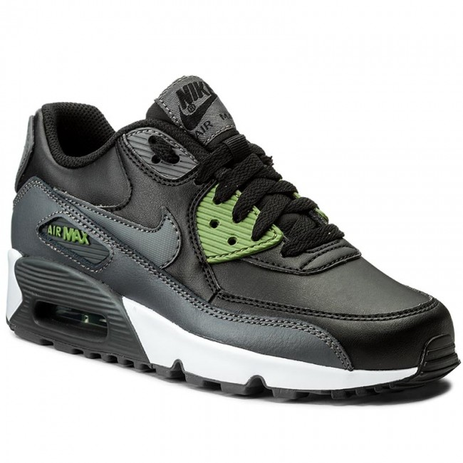 newest 7901c ae272 Skor NIKE - Air Max 90 Ltr (GS) 833412 008 Black Dark Grey