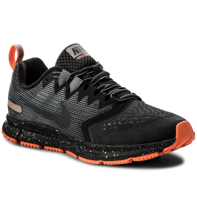 on sale 66bdb 877a1 Skor NIKE - Zoom Span 2 Shield 921720 001 Black Anthracite Cool Grey