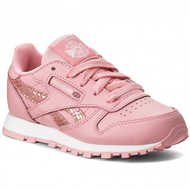 pretty nice 5ffb7 8a660 Skor Reebok - Cl Leather Spring CN0306 Pink White