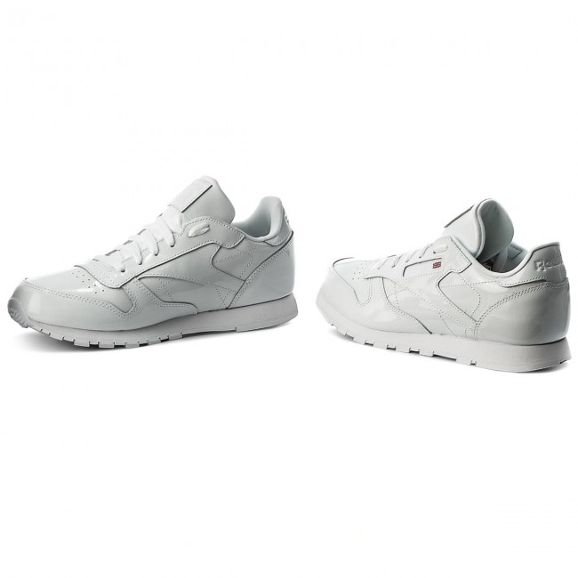 485aa4629f0 Skor Reebok - Classic Leather Patent CN2063 White - Sneakers ...