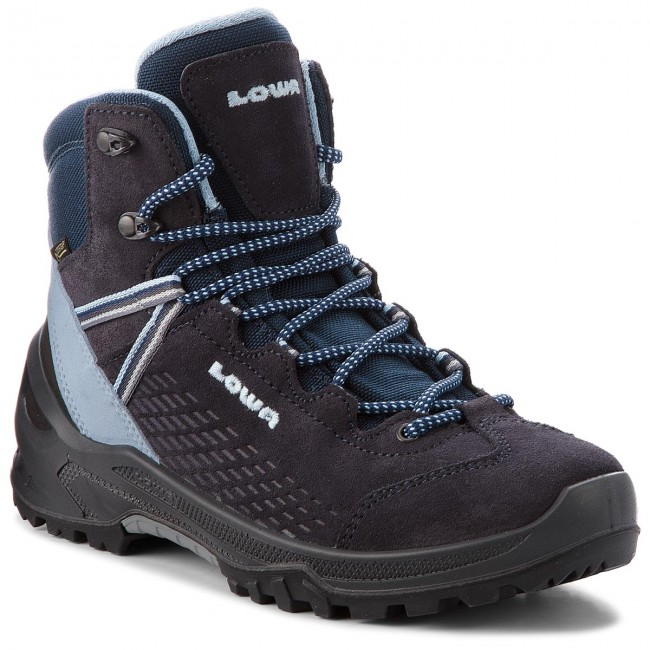 8240c263eb0 Trekking-skor LOWA - Acro Gtx Mid Jr GORE-TEX 350108 Navy/Light Blue ...