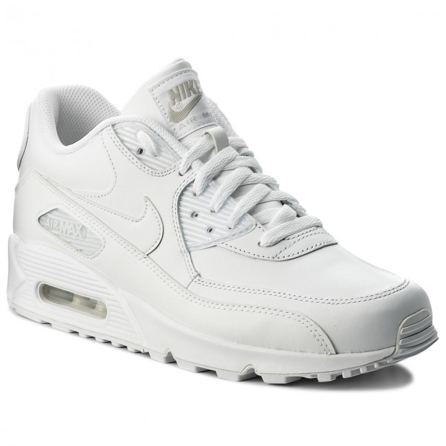 on sale ca586 c596f Skor NIKE - Air Max 90 Leather 302519 113 True White True White