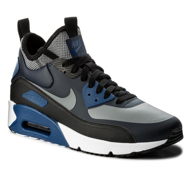 new arrival f1406 7b852 Skor NIKE - Air Max 90 Ultra Mid Winter 924458 401 Obsidian Cool Grey