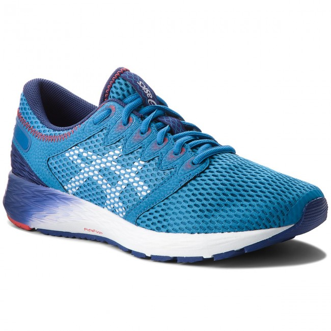 save off 5b8c9 2ada9 Skor ASICS - RoadHawk FF 2 1011A136 Race Blue White 400 ...