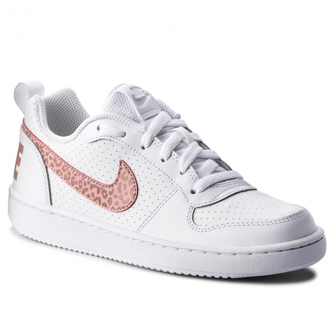 info for a01cf 2019c Skor NIKE - Court Borough Low (GS) 845104 101 White Rust Pink