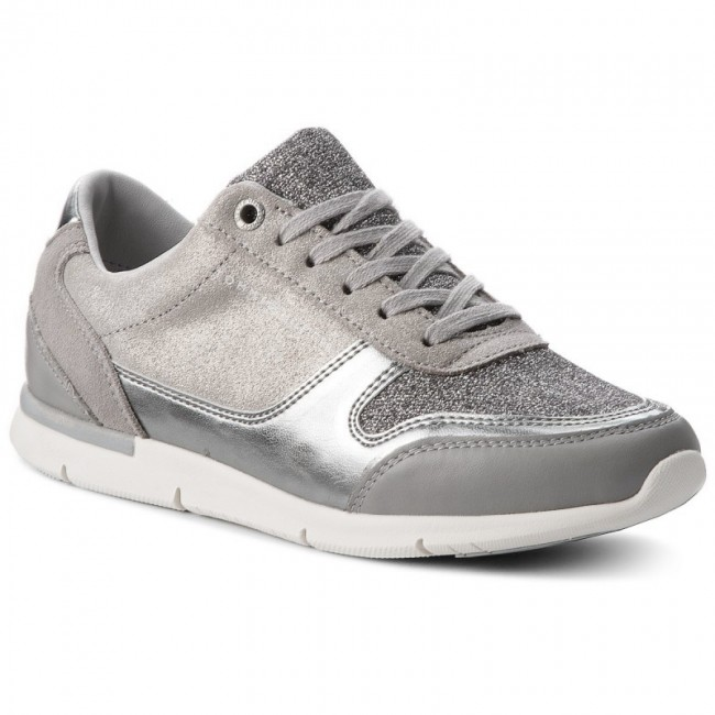 new style 7504c 4c4bb Sneakers TOMMY HILFIGER - Sparkle Light Sneaker FW0FW03276 Diamond Grey 001