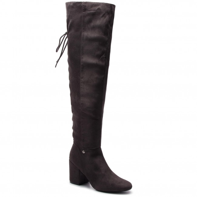 Over knee boots BIG STAR BB274519 Grey