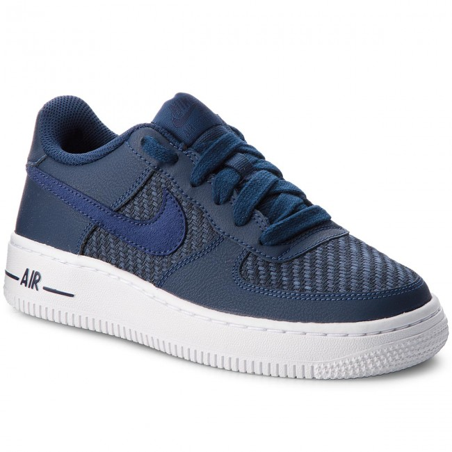 official photos d5145 7cb71 Skor NIKE - Air Force 1 Lv8 (GS) 820438 406 Navy Navy Midnight Navy ...