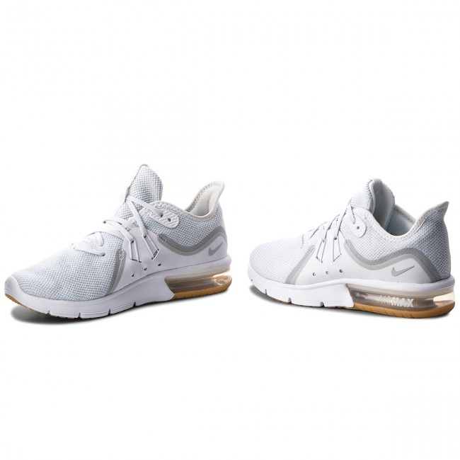 detailed look ace81 a0049 Skor NIKE - Air Max Sequent 3 908993 101 White Pure Platinum