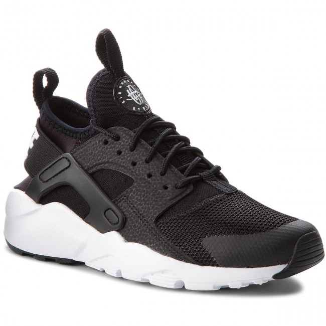 detailing 843a4 6aaa5 Skor NIKE - Air Huarache Run Ultra Gs 847569 002 Black White