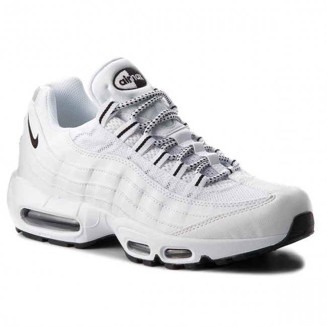 the latest 00a82 4f918 Skor NIKE - Air Max 95 609048 109 White Black Black