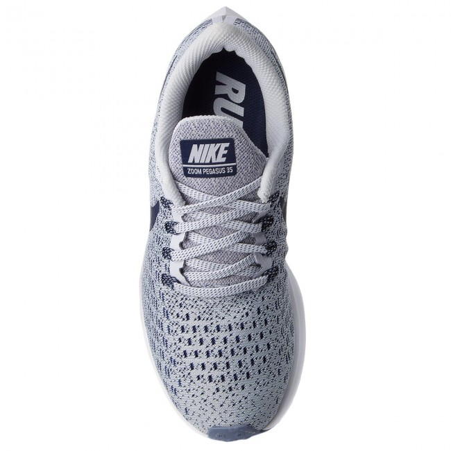 Skor NIKE Air Zoom Pegasus 35 942855 005 Football GreyBlue VoidWhite