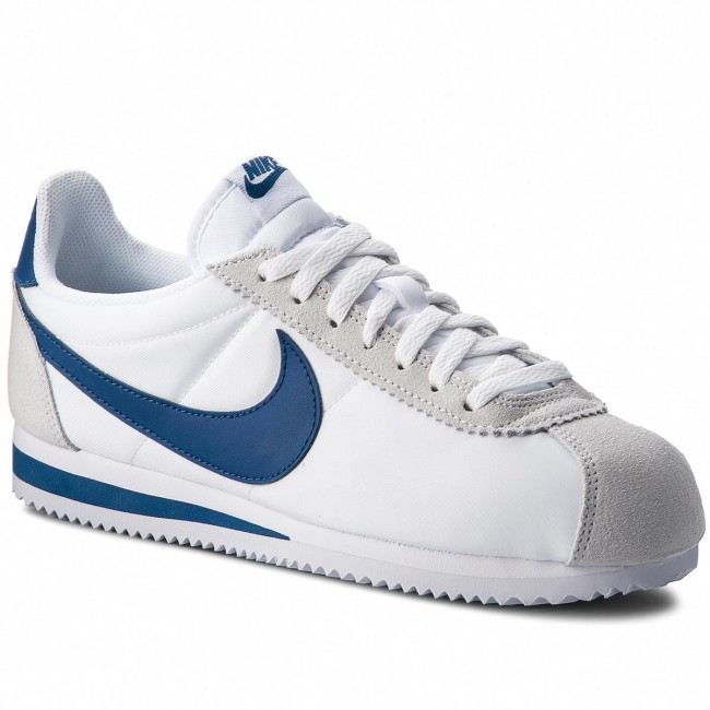 quality design bb9bc 1ba5c Skor NIKE - Classic Cortez Nylon 807472 102 White Gym Blue