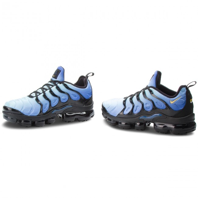 more photos cb15f 2b4bf Skor NIKE - Air Vapormax Plus 924453 008 Black Chamois Hyper Blue
