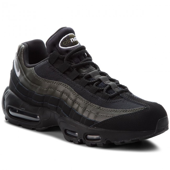 reputable site b4124 cc598 Skor NIKE - Air Max 95 Essential 749766 034 Black White Sequoia
