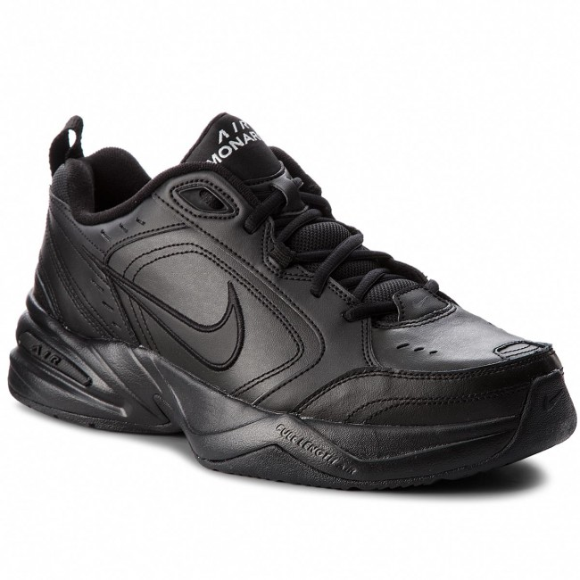 hot sales 4b8fd 0f467 Skor NIKE - Air Monarch IV 415445 001 Black Black