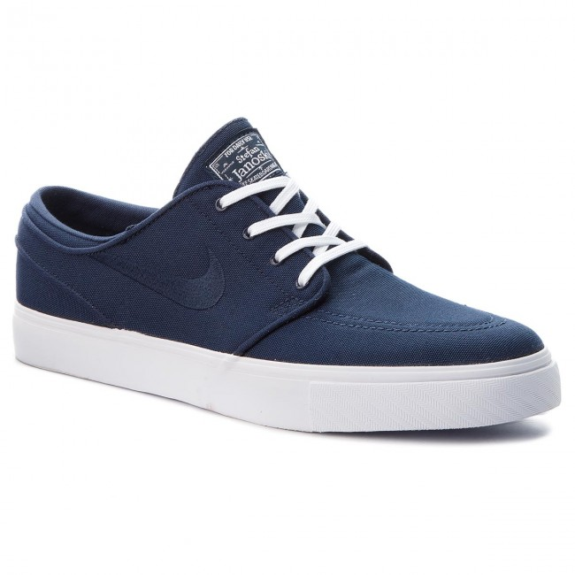 lowest price 37cd5 25fee Skor NIKE - Zoom Stefan Janoski Cnvs 615957 404 Obsidian Obsidian White
