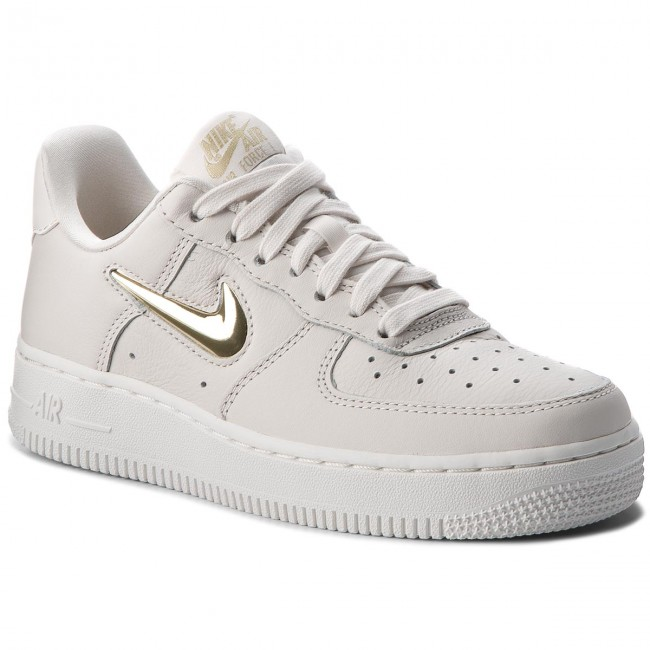 sports shoes 1f772 c3db1 Skor NIKE - Air Force 1  07 Prm Lx AO3814 001 Phantom Mtlc Gold
