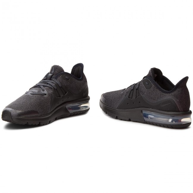 low priced 0948f e7c22 Skor NIKE - Air Max Sequent 3 (GS) 922884 006 Black Anthracite