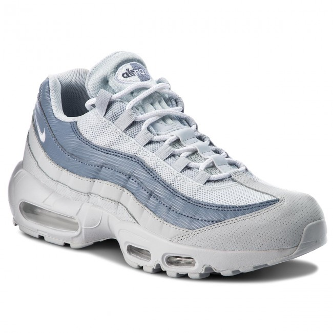 super cute b3dca 4882e Skor NIKE - Air Max 95 Essential 749766 036 Pure Platinum White