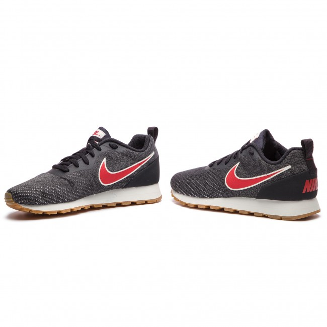quality design 4c548 fdad3 Skor NIKE - Md Runner 2 Eng Mesh 916774 009 Oil Grey University Red