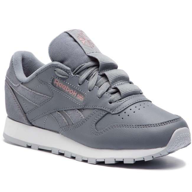 reputable site d6a58 3951e Skor Reebok - Cl Lthr CN7023 Cold Grey Smoky Rose