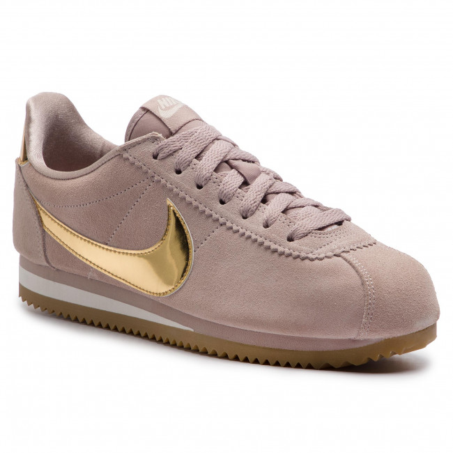 save off 56e94 315c6 Sneakers NIKE - Classic Cortez Se 902856 204 Diffused Taupe Metallic Gold