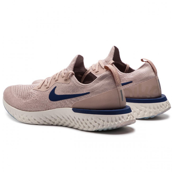 uk availability 97e0e 8d9cb Skor NIKE - Epic React Flyknit AQ0067 201 Diffused Taupe Blue Void