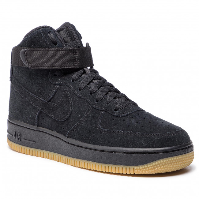 info for eb763 b662b Skor NIKE - Air Force 1 High Lv8 (GS) 807617 002 Black Black