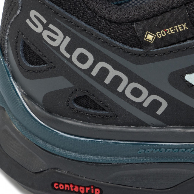 Trekking skor SALOMON X Ultra 3 Prime Gtx W GORE TEX 407862 20 W0 BlackReflecting PondIcy Mom
