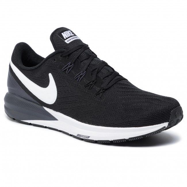 Nike Air Zoom Structure 22 Shield Shoes Black White