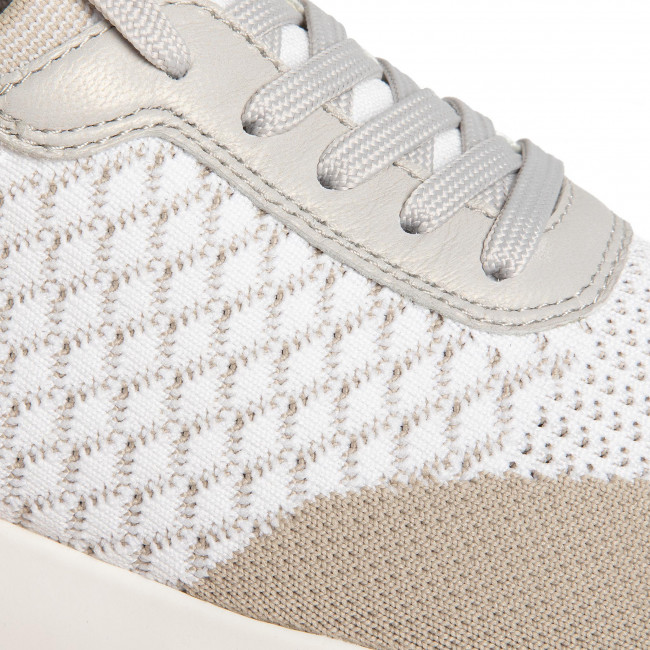 Sneakers CAPRICE 9 23702 24 White Knit Com 125