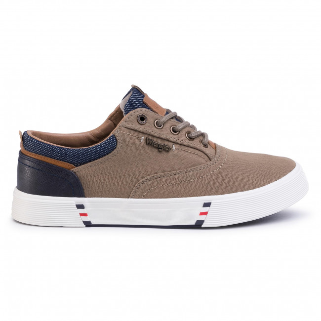 Sneakers WRANGLER Monument Board WM01001A Sand 025