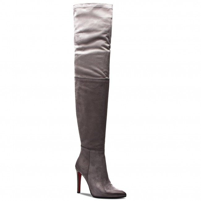 Over knee boots CARINII B4537 J51 330 PSK A49
