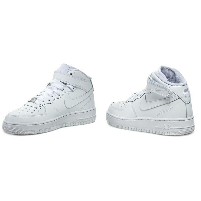 best sneakers 65aba 7affd Skor NIKE - Air Force 1 Mid  07 315123 111 Vit